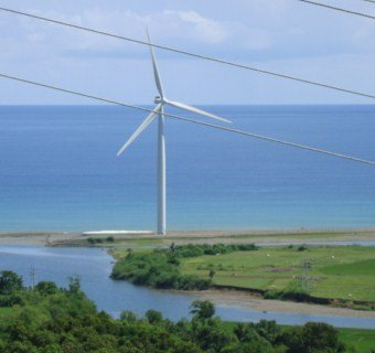 Bangui windmills in pagudpud